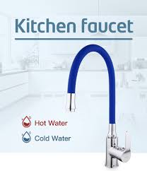 <b>Frap</b> Silica Gel Nose Any Direction Rotating Kitchen Faucet Cold ...