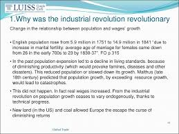 trade and the industrial revolution lecture   why was the industrial revolution revolutionary