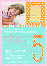 happy hour invitation wording image pancake pjs breakfast printable invitation