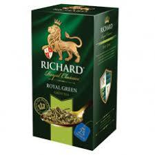 <b>Чай Richard Royal green зеленый</b> 25пак Майский