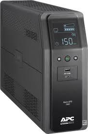 <b>APC Back-UPS Pro</b> 1500VA 10-Outlet/2-USB Battery Back-Up and ...