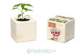 Набор для выращивания <b>растений Экокуб Перчик ECB-01-12</b>