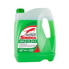 <b>Антифриз</b> Sibiria G12 <b>зеленый</b> 5 л купить по цене 449.0 руб. в ОБИ