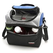 <b>SANNE</b> 600D Oxford Medium Thermal Insulated Lunch Box Cooler ...