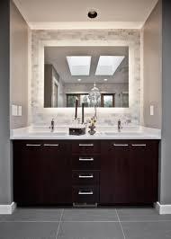 framed mirror in bathroom image of bathroom linen cabinets wall mount adorable vanity linen midd