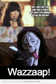 Call me maybe scarymovie style | Funny Pictures via Relatably.com
