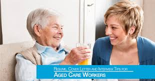 resume cover letter and interview tips for aged care workers
