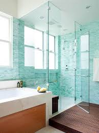 design walk shower designs: blue green two person walk in shower design