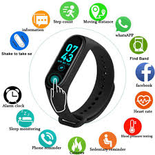 <b>M4 Smart Band Fitness</b> Tracker Watch Sport Bracelet Waterproof ...