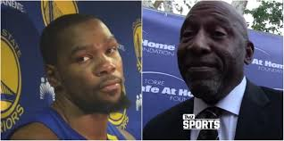 james worthy fires back at durant after he got called shady star kevin durant took issue some comments james worthy made before the season even started and proceeded to call the legend shady and corny