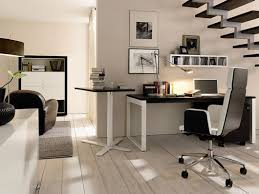 the excellent home office inspiration design idea in black and white for men has desk modern chair a wall mounted shelving unit picture walls black white home office inspiration