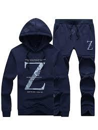 T999 - 528B Autumn Sweater Suit Men's Spring Casual Hoodie Set ...