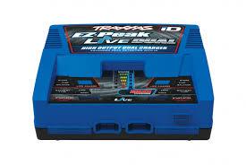 <b>Зарядное устройство TRAXXAS</b> Charger EZ-Peak Live Dual 200W ...