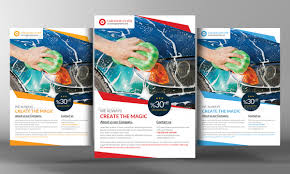 car wash flyer template by graphicforestnet graphicriver car wash flyer template corporate flyers middot preview 01 jpg