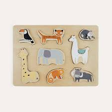 Buy the Bloomingville <b>Wooden Toy Animals</b> at KIDLY Ireland