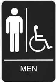 Image result for men's public restroom