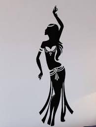 Belly Dance Vinyl <b>Wall Decal</b> Relax Arabic Sexy <b>Beautiful</b> Girl Mural ...