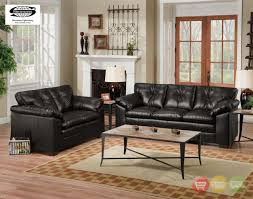 Two Loveseat Living Room Sofa Loveseat And Chair Set All Leather Tufted Seat Sofa Loveseat