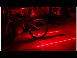 Free <b>Bicycle Laser</b> Beam Rear <b>Tail Light</b> Lamp review ! - YouTube