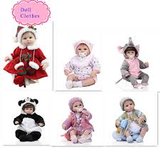 Wholesale 18 Inch Christmas Reborn Baby Doll Clothes <b>Hot</b> Sell ...