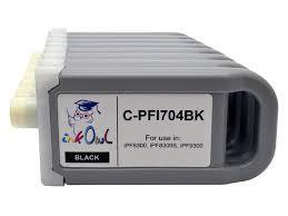 8-pack <b>700ml</b> Compatible Cartridges for CANON <b>PFI</b>-704 - InkOwl