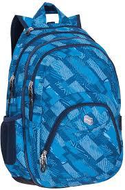<b>Рюкзак PULSE</b> 2в1 <b>TEENS</b> BLUE PATH, 50х32х25см