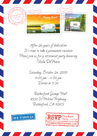 retirement party invitation clipart clipartfest camping trip flyer template