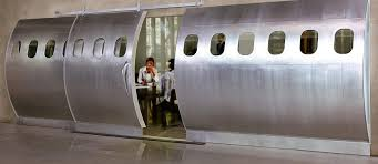 fuselage doors aviation themed furniture