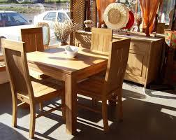Teak Dining Room Chairs Teak Dining Sets International Caravan Royal Tahiti Albacete Piece