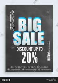 d text big discount offer in chalkboard style can be 3d text big discount offer in chalkboard style can be used as poster