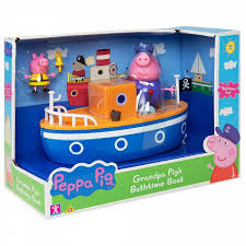 Свинка Пеппа (<b>Peppa Pig</b>) Игровой набор для ванны <b>Корабль</b> ...