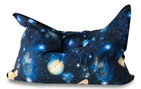 <b>Кресло</b>-мешок <b>DreamBag Подушка</b> Космос, размер XL, жаккард ...