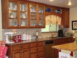 Small Wood Cabinet With Doors Small Kitchen With Door Pontifus