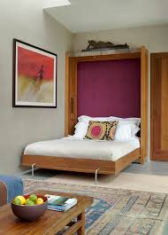craftsman cool example of a mid sized eclectic guest bedroom design in other with gray walls bedroom living spaces small