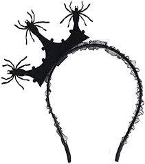 <b>Halloween Spider</b> Hair Hoop <b>Cosplay Spider</b> Web Headwear for ...