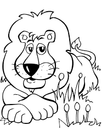 Small Picture Coloring Pages Animals Lion Coloring Pages Images Lion Coloring