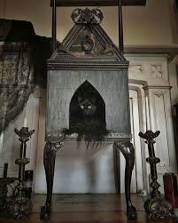DIY cat tree for the <b>Gothic kitty</b> … | Goth home decor, Cat house diy ...