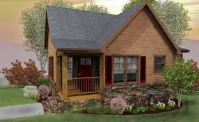 Small House Plans   Small Home Designs by Max Fulbrightrustic small cabin design floor plan