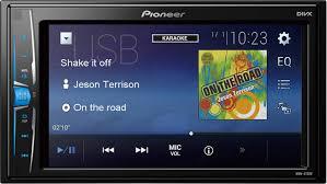<b>Pioneer MVH</b>-<b>A100V</b> Double DIN monitor receiver Steering wheel ...