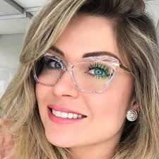 Мода <b>Lady Cat Глаз</b> очки Полигон Нерегулярность женские очки ...