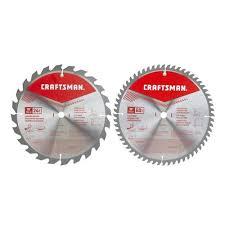 CRAFTSMAN 2-Pack 10-in Set-<b>Tooth High-Speed Steel</b> Circular ...