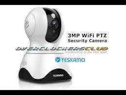 Yeskamo Indoor <b>3MP PTZ WiFi Camera</b>. - YouTube