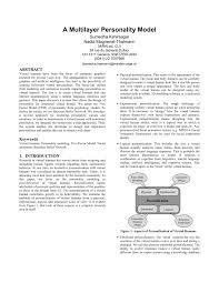 (PDF) A <b>Multilayer Personality Model</b>