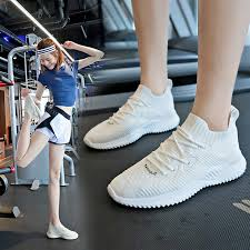 <b>Summer</b> Breathable <b>Flying Woven</b> Casual Sports Running Shoes ...