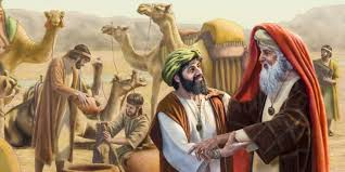 Image result for abraham and eliezer