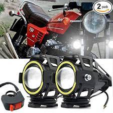 <b>Motorcycle</b> Headlight,U7 LED Spotlight <b>Fog</b> Lights DRL <b>Auxiliary</b> ...