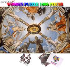 <b>MOMEMO</b> Adoration of The Trinity <b>Jigsaw Puzzle Wooden</b> 1000 ...