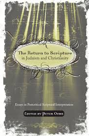 the return to scripture in judaism and christianity essays in the return to scripture in judaism and christianity essays in postcritical scriptural interpretation peter ochs 9781556358159 com books