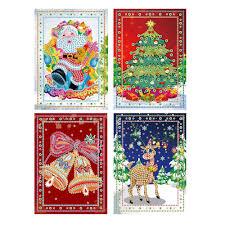 <b>MOONCRESIN DIY</b> 5D <b>Diamond Painting</b> Christmas Greeting Cards ...