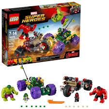 <b>LEGO Super Heroes</b> Hulk vs. Red Hulk <b>76078</b> (375 Pieces ...